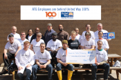 American Tinning & Galvanizing Company United Way Check Presentation